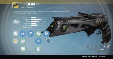 How to Get Thorn Exotic Weapon in Destiny Rise of Iron
