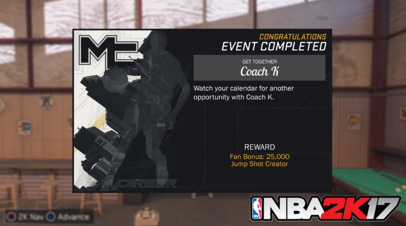 How to Unlock Custom Jump Shots Creator in NBA 2K17
