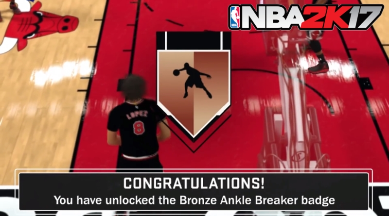 Ankle breaker badge