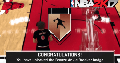 NBA 2K17 Ankle Breaker Badge Guide