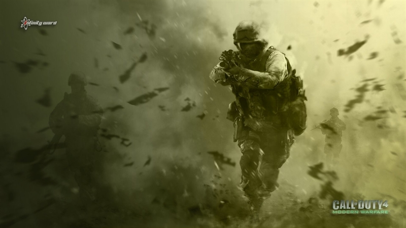 Best Low End PC Games - Call Of Duty 4 Modern Warfare