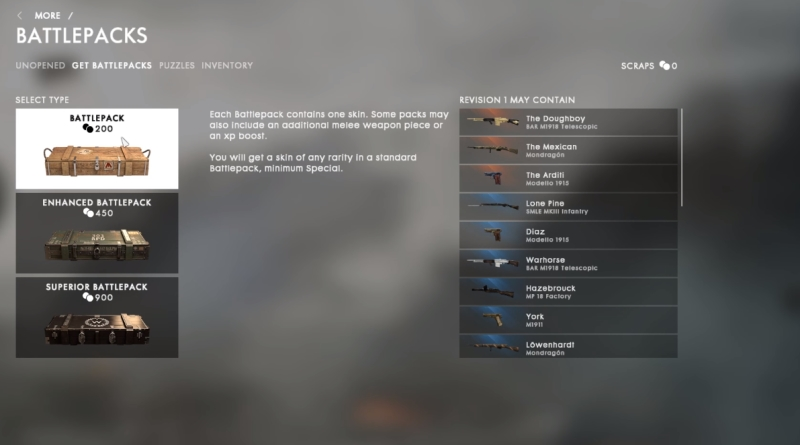 How to Get Battlepacks in Battlefield 1