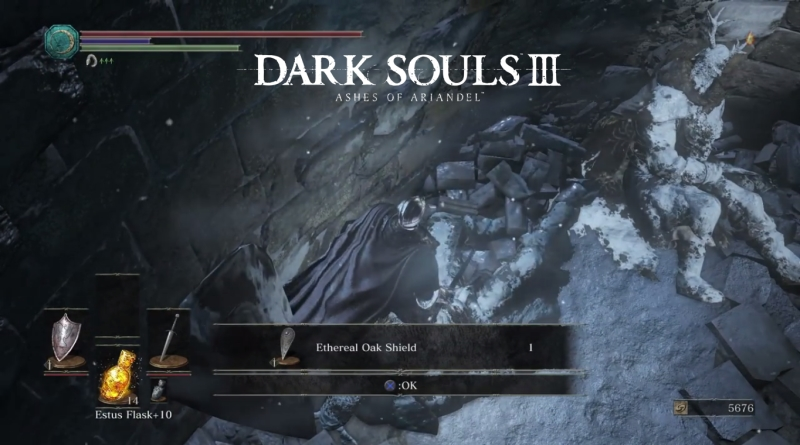 How to Get Ethereal Oak Shield in Dark Souls 3 Ashes of Ariandel