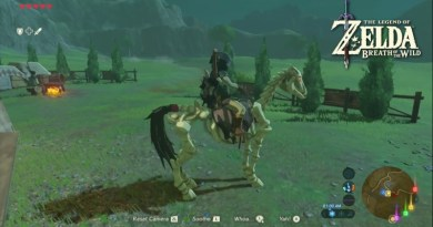 How to find Skeleton Horse in The Legend of Zelda Breath of the Wild