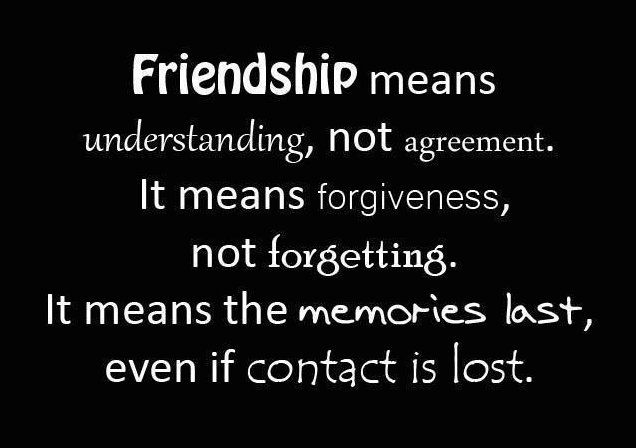 About Sayings Friendships Lost