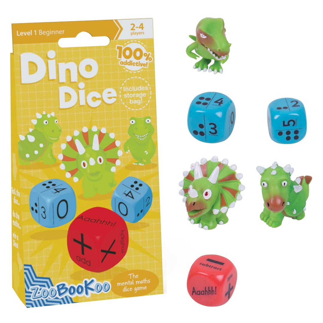 Dino Dice Maths Game