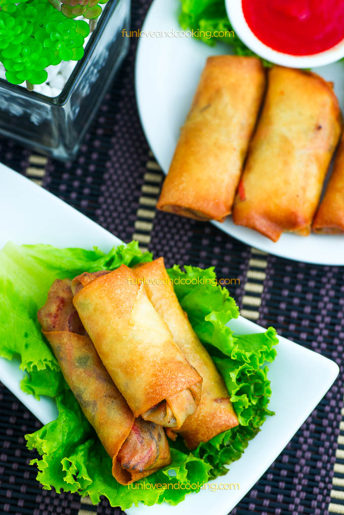 Spring Roll Recipe funloveandcooking.com