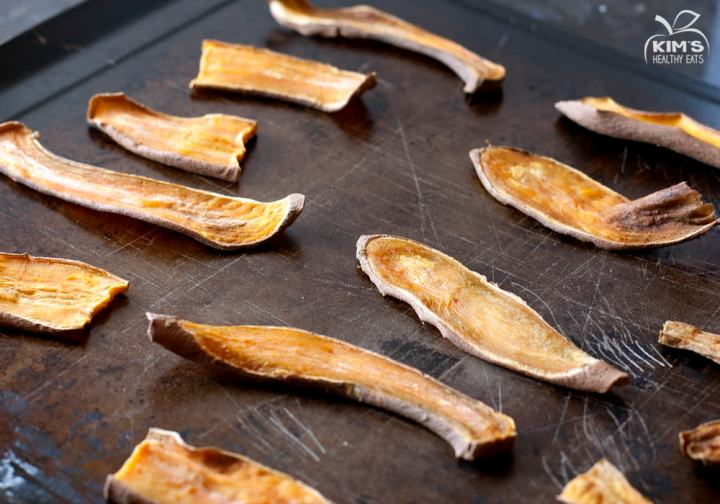 DIY sweet potato dog treats