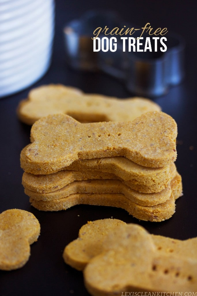 for dogs with allergies: homemade grain free dog treats
