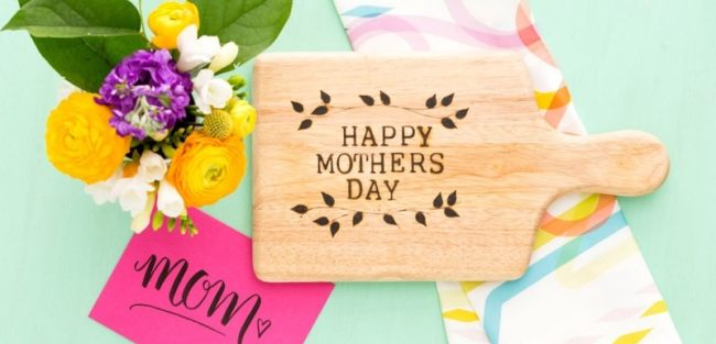 Use simple wood burning techniques to make create a special handmade mother's day gift.