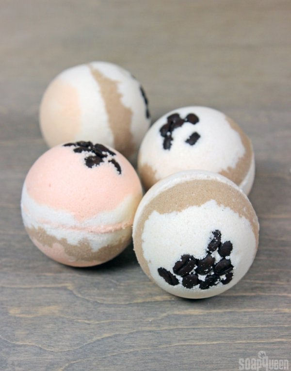 Make a Pumpkin Spice latter bath bomb and feel like Fall from the inside out.