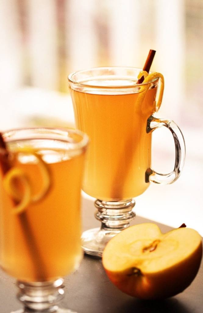 This apple cider hot toddy will hit you in all the right places. Check out the recipe, plus see what other hot drink recipes you want to try.