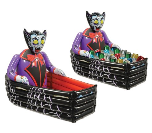 Inflatable Halloween Cooler dracula coffin