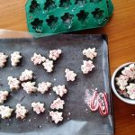 We make this easy Christmas bark recipe every year for teacher gifts and parties. The pepermint Christmas tree bark is as delicious as it is festive. #ChristmasBark #PeppermintBark #EasyDIYChristmas