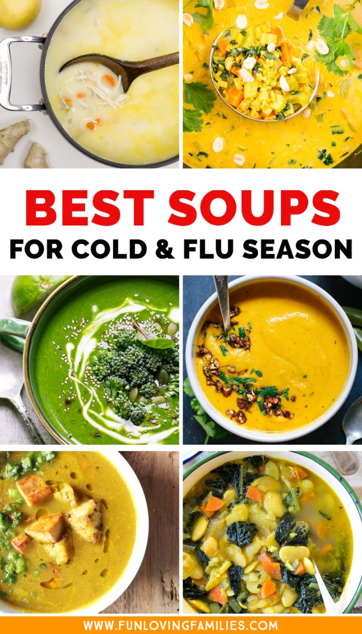 best soup recipes for cold and flu season
