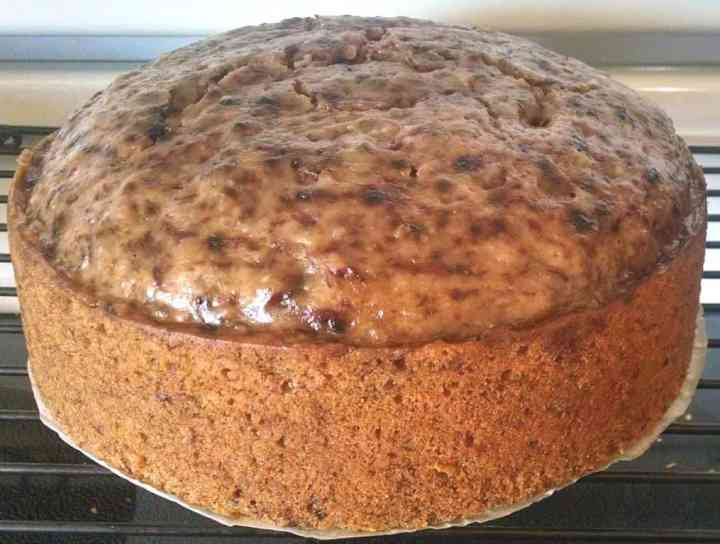 banana bread cooked in instant pot