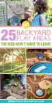 diy kids play spaces for the backyard