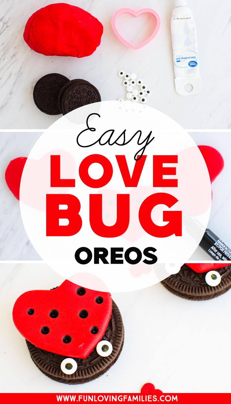 DIY Oreo love bug treats