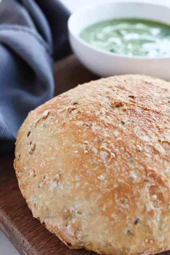 instant pot crusty bread