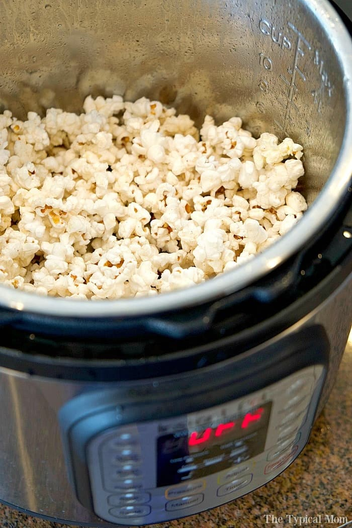 Learn how to use your new Instant Pot to make popcorn and so many other foods. #InstantPotRecipes