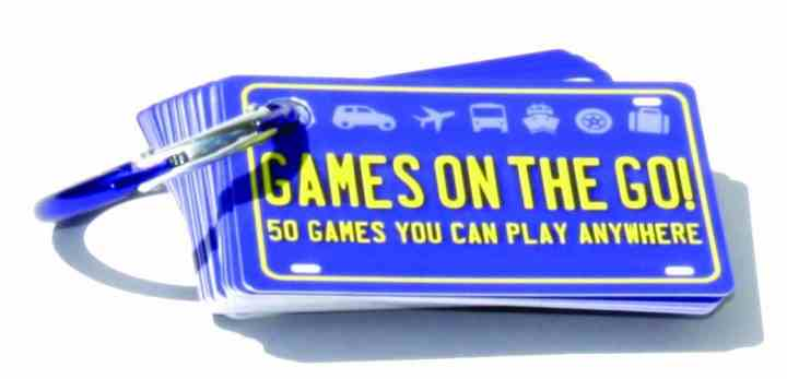 Keep the kids from being bored in the car with this Games on the Go set.