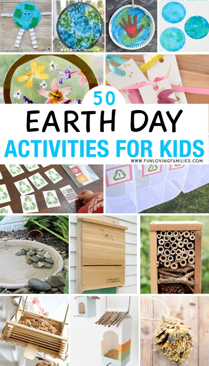 Kids Earth Day activities to do