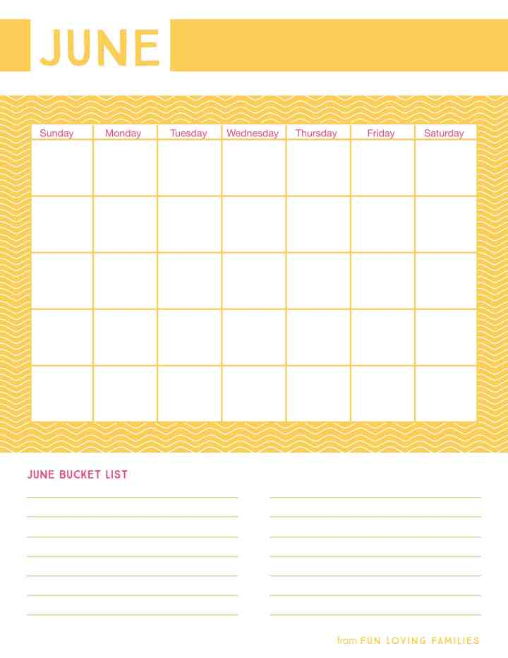 Get the most out of your Summer with the kids with our free Summer planning printables. 18 Summers go by fast...make the most of them!