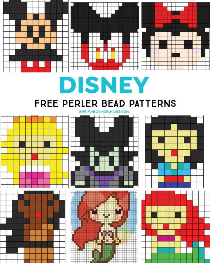 Free Disney Perler Bead Patterns