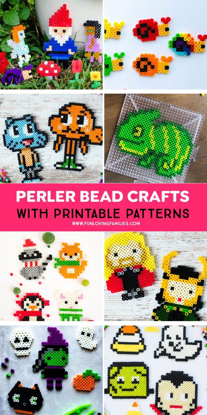 perler bead patterns with printable