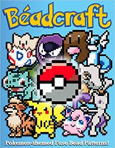 Perler bead book of Pokemon patterns