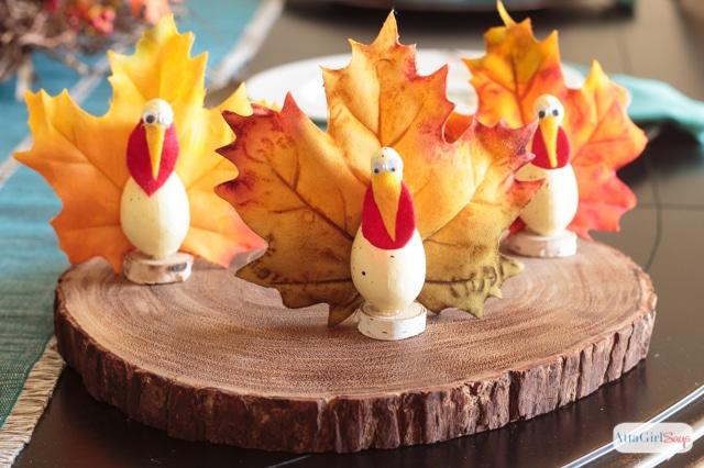Gourd turkey craft from Atta Girl Says