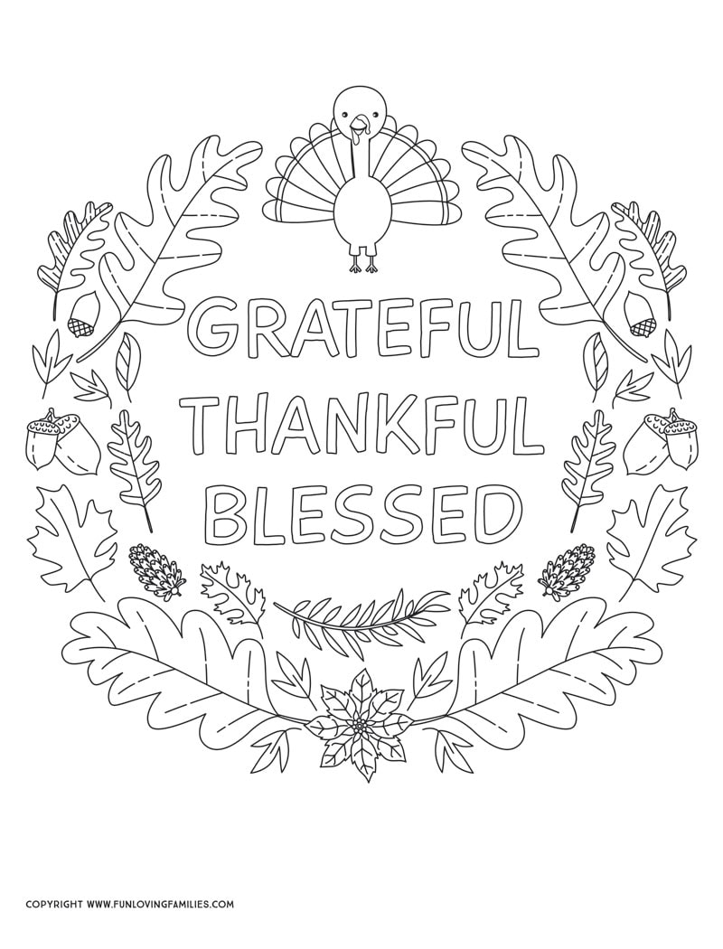 - Turkey Coloring Pages That Everyone Will Love - Fun Loving Families