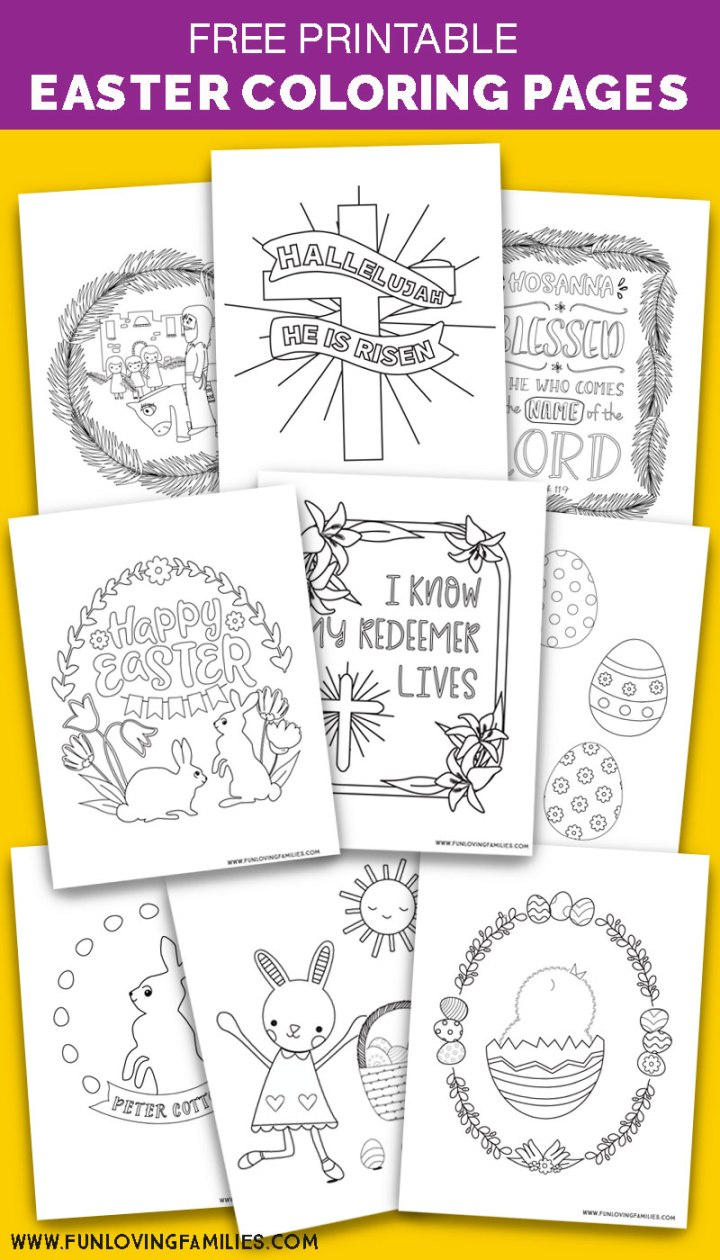 He Is Risen Coloring Pages | 1260x720