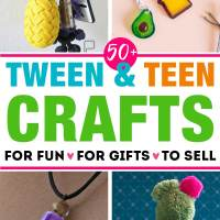 50+ Fun Crafts for Tweens and Teens: Ultimate List That Will Keep Them Busy for Hours