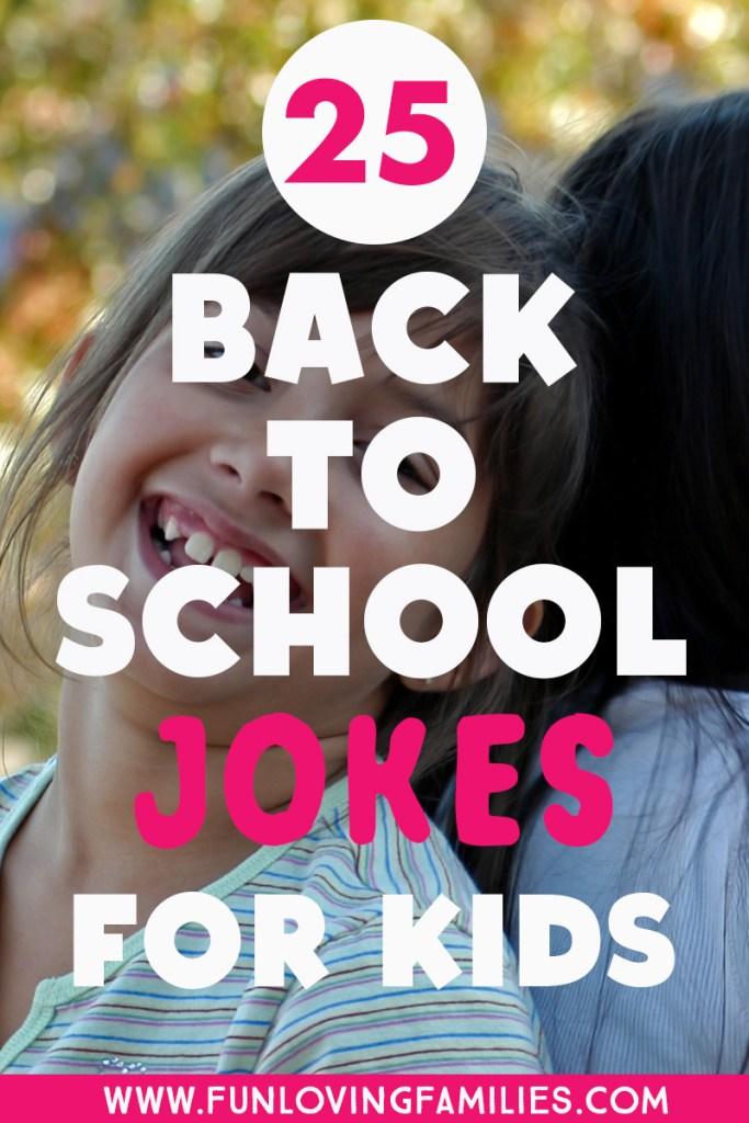 school jokes for kids for back to school