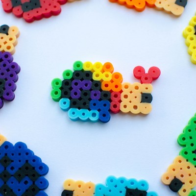 Easy Snail Perler Bead Pattern