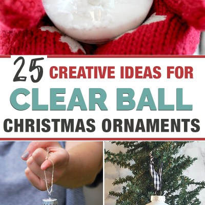 25 Plastic Ball Ornament Decorating Ideas that are Fun and Easy