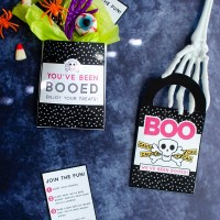 You've Been Booed Printable Signs - Super Cute and Totally FREE!