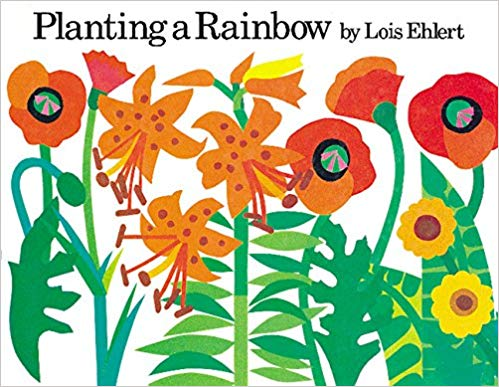 planting a rainbow book for kids