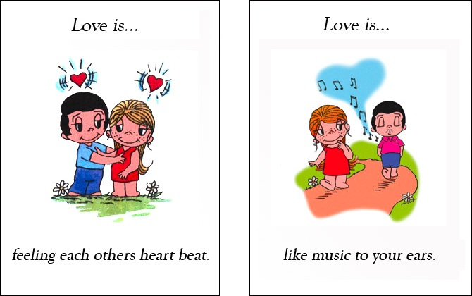 love is (10)