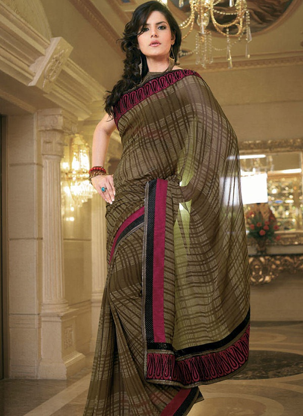 zarine-khan-glorious-saree-collection- (11)