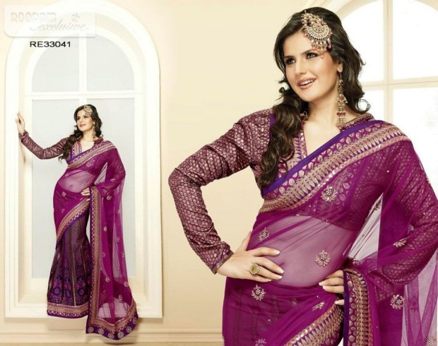 zarine-khan-exclusive-roopam-saree-collection- (9)