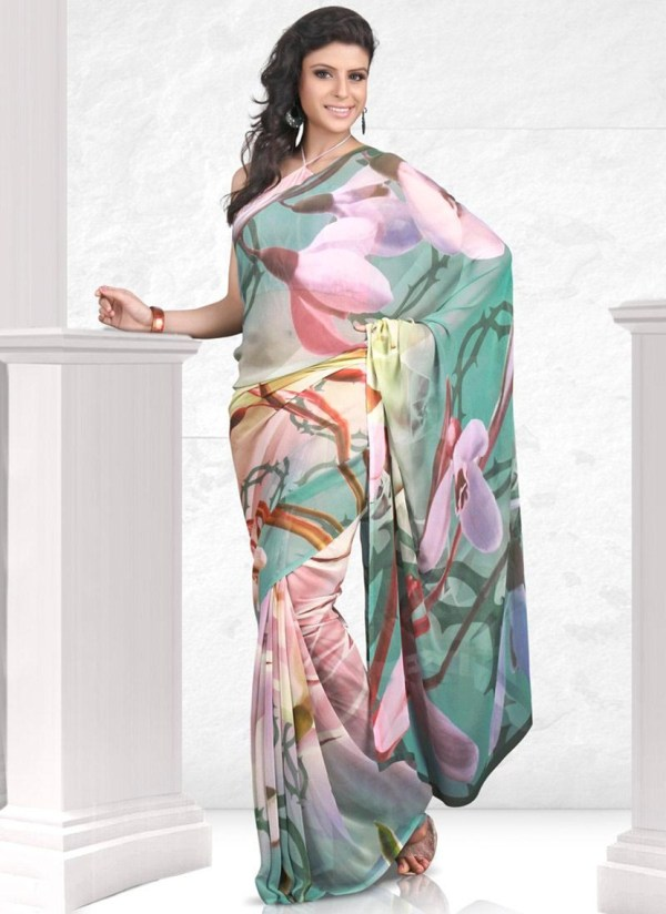 printed-saree-designs-for-summer- (7)