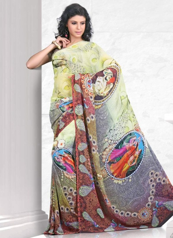 printed-saree-designs-for-summer- (10)