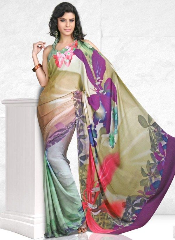 printed-saree-designs-for-summer- (12)