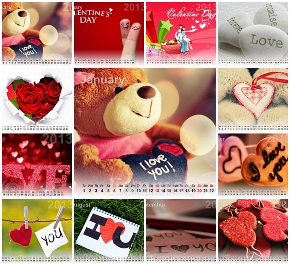 love-calendar-2013