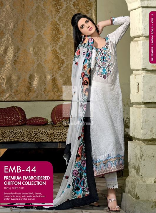 gul-ahmed-embroidered-chiffon-lawn-collection-2014- (19)