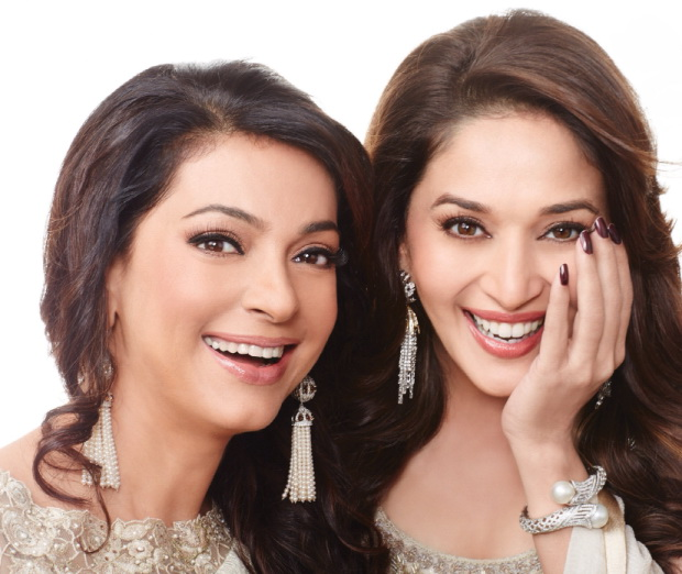 madhuri-dixit-and-juhi-chawla-photoshoot-for-filmfare-magazine-march-2014- (1)