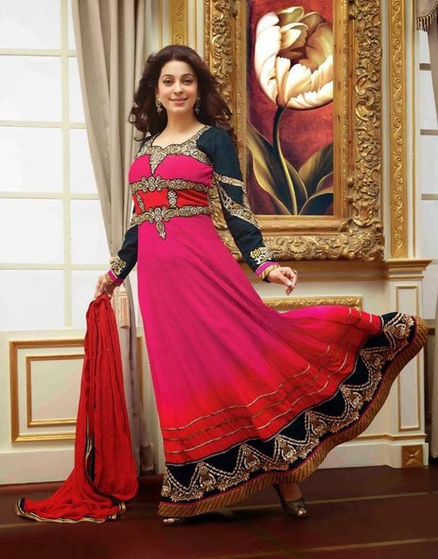 juhi-chawla-indian-party-wear-designer-dresses- (2)
