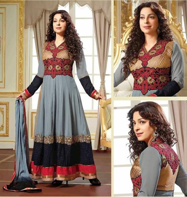 juhi-chawla-indian-party-wear-designer-dresses- (9)